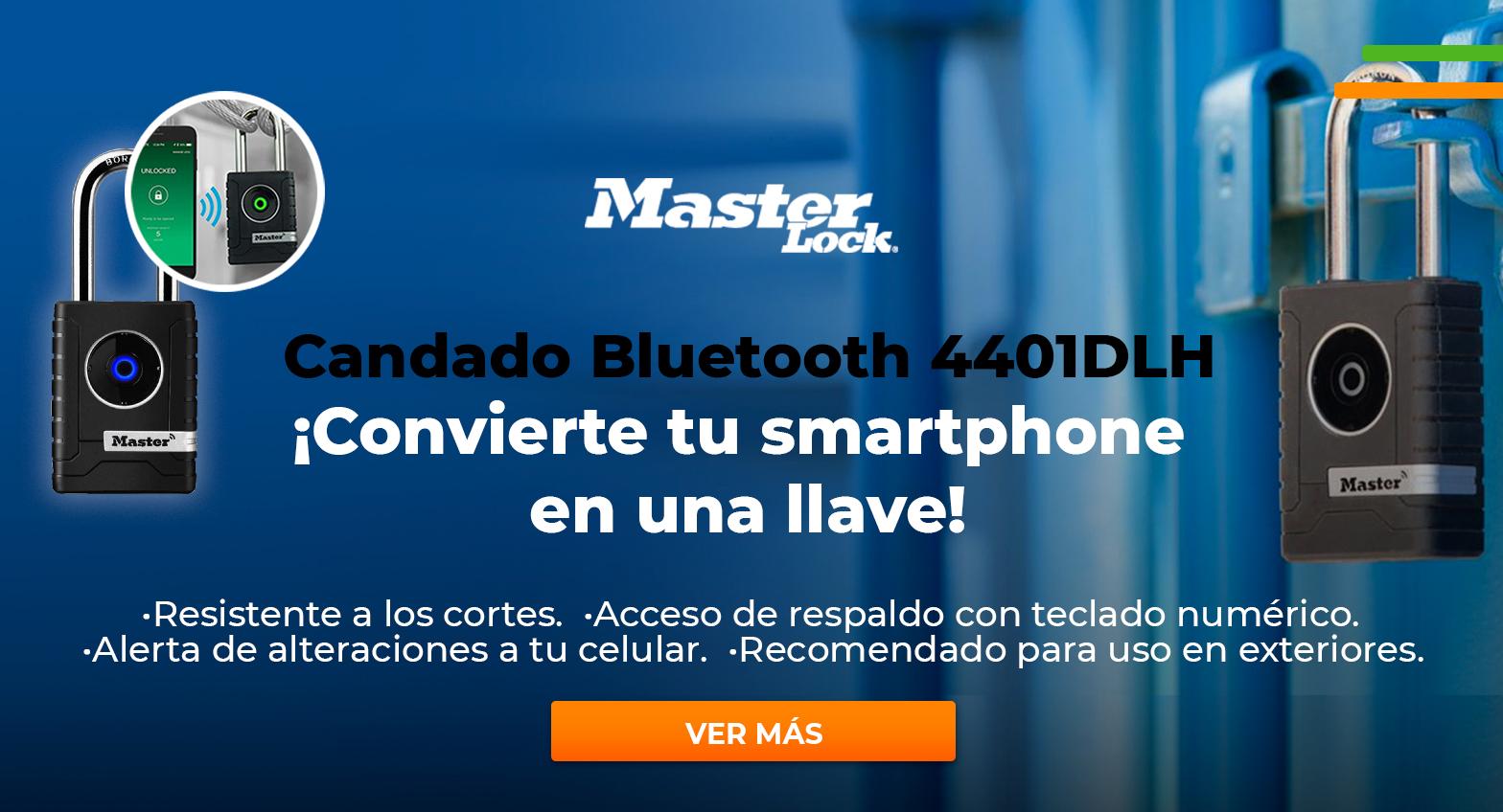 Candado Bluetooth Masterlock